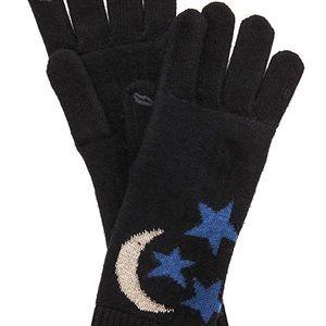 Diane Von Furstenberg Accessories - DVF Moon and Stars Hat and Glove Set